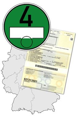 Afbeelding van Duits milieuvignet