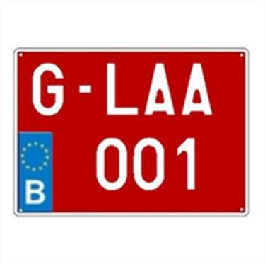 Afbeelding van G-plaat (groot)