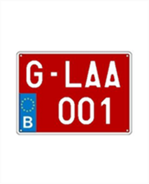 Afbeelding van G-plaat (klein)