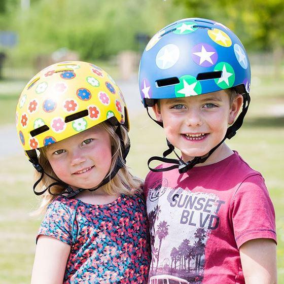 Afbeelding van Kinderfietshelm VAB Lazer Street+ Jr