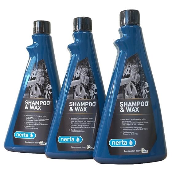 Afbeelding van 3 x Nerta Shampoo & Wax