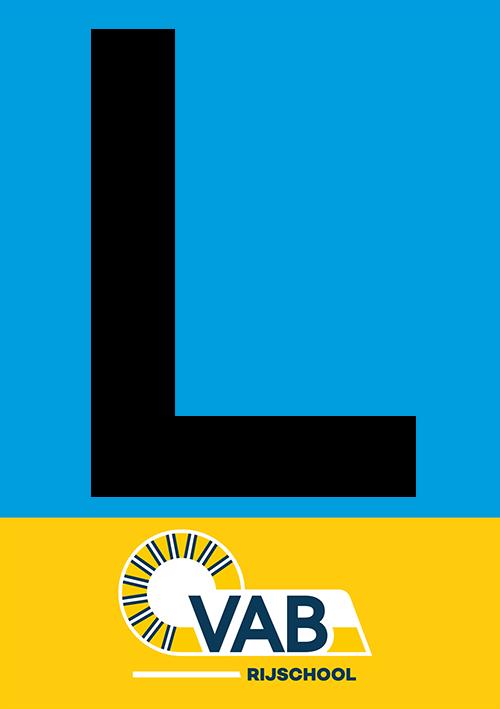 Afbeelding van l sticker